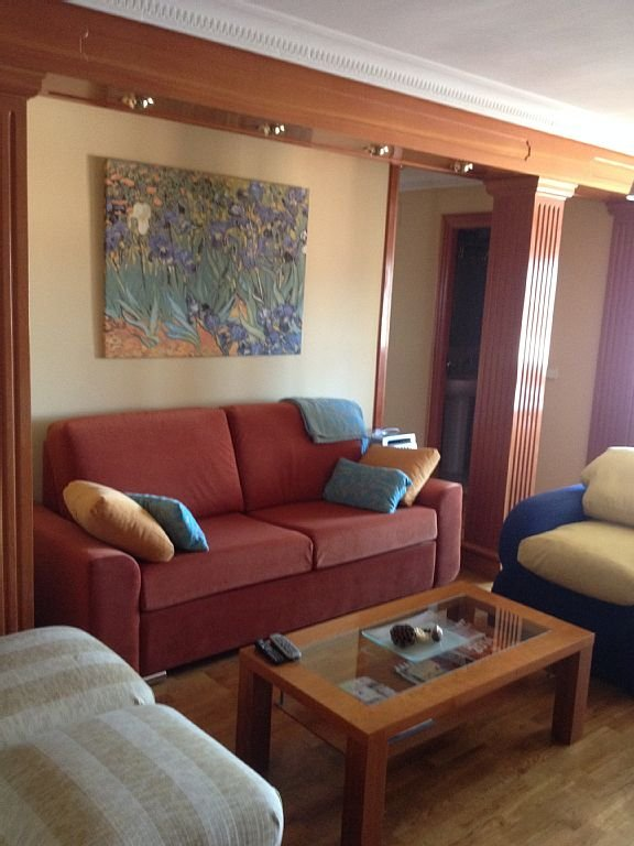 Salón con sofá cama 2 personas