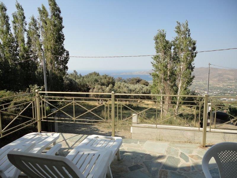 Karystos - Villa récente magnifique vue mer panoramique, alquiler vacacional en Grecia central