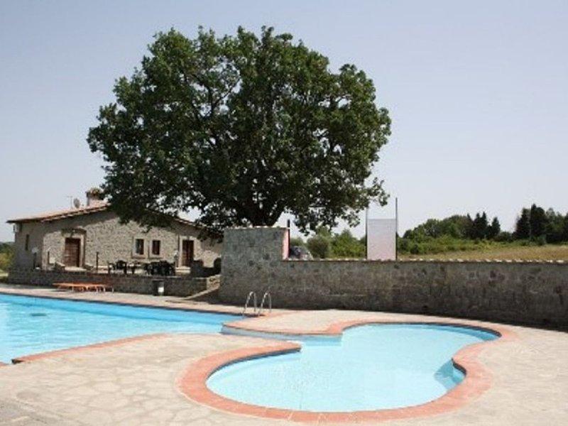 CASALE RISTRUTTURATO SU BORDO PISCINA, vacation rental in Bassano in Teverina
