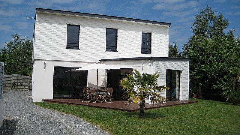 agréable maison récente ensoleillée proche commerces et gare de Pornichet, holiday rental in Saint Andre des Eaux