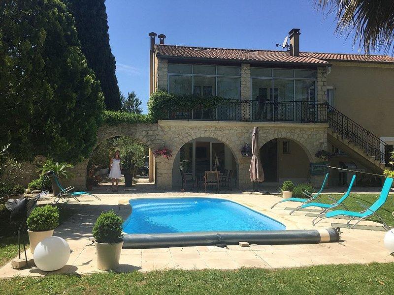 Maison de charme proche Montpellier-Nimes-Grande, casa vacanza a Restinclieres