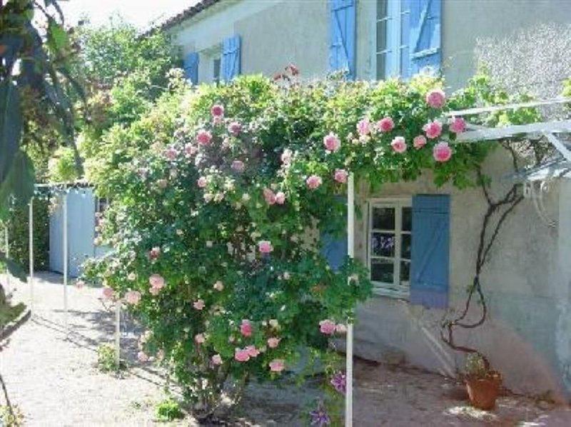 Maison provençale sur un beau terrain arboré de fruitiers, vacation rental in Valreas
