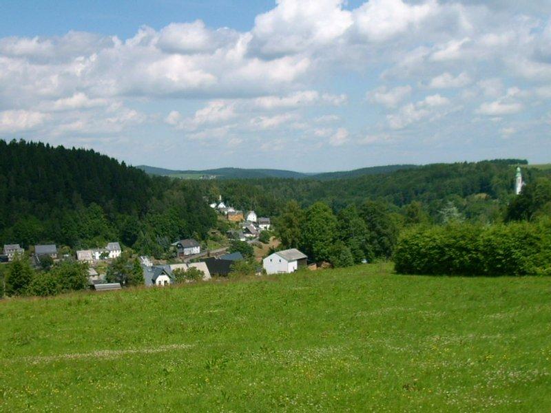 Panoramablick im Sommer
