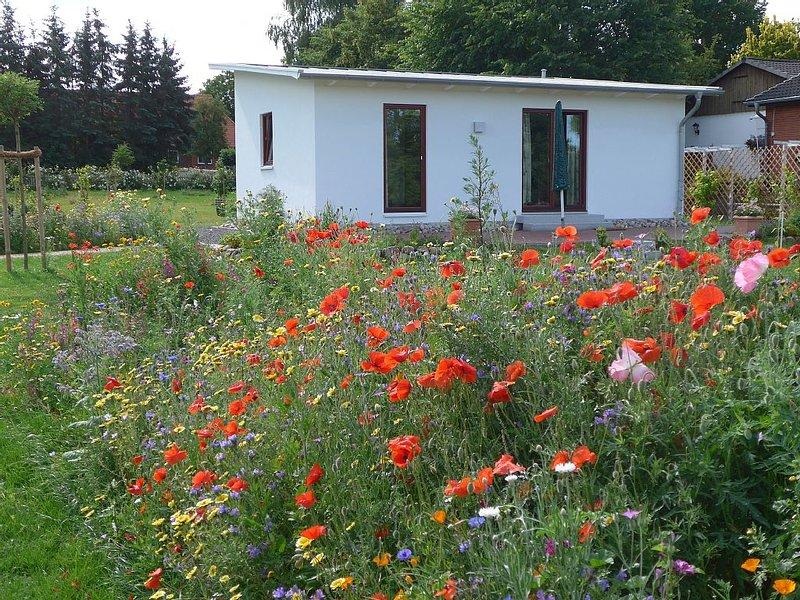 Ferienhaus mit Garten in Ostseenähe, holiday rental in Strenglin