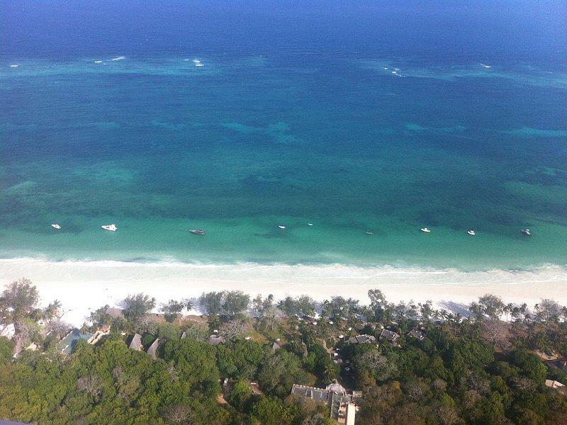 Strand von oben