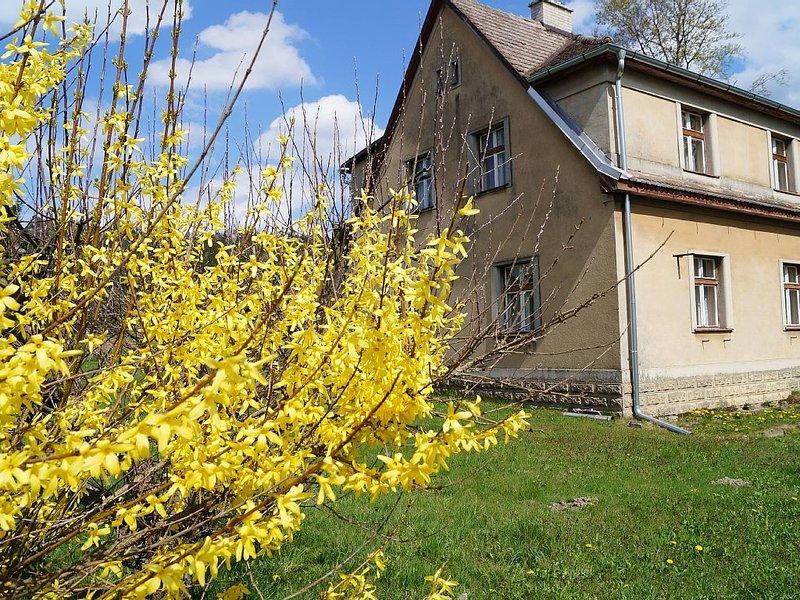 Ferienhaus in Adršpach nur 5 Gehminuten in die Felsenstadt, vacation rental in Olesnice v Orlickych Horach