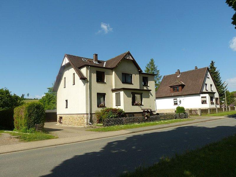 am Rande des Südharzstädtchen Bad Sachsa - familienfreundlich, großer Garten, holiday rental in Zorge