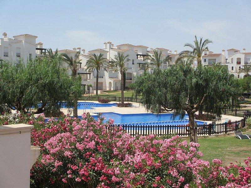 Spacious luxury apartment for rent at La Torre Golf, Roldan, Murcia., location de vacances à Torre-Pacheco