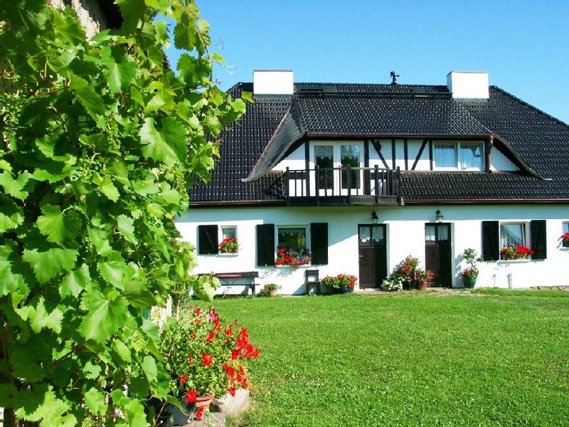 Urige FeWo in der Uckermark, der 'Toscana des Nordens' für 273,-€/Woche, casa vacanza a Bruessow