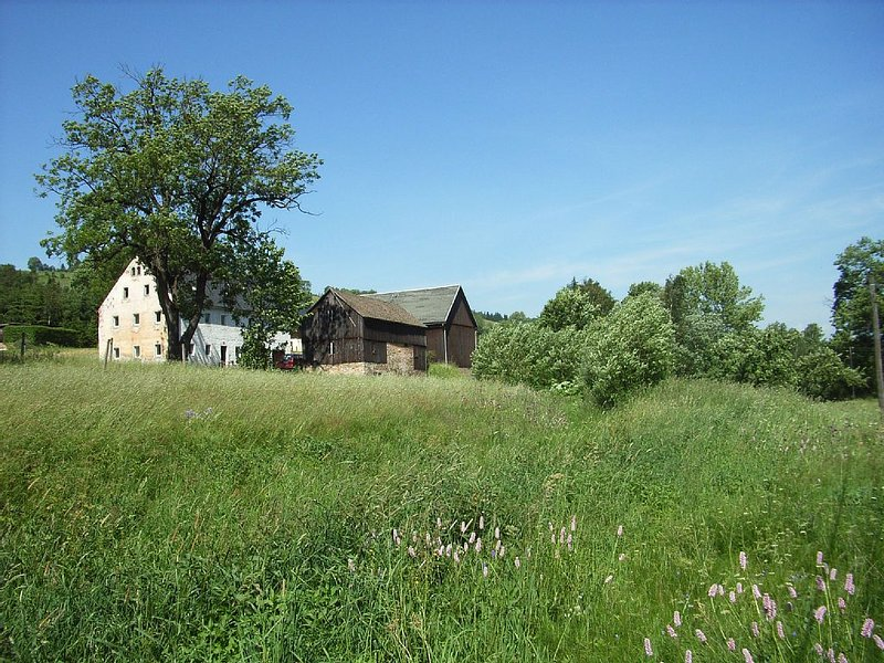 Bauernhaus bis 13 Pers. in herrlicher Hanglage im Osterzgebirge nahe Altenberg, holiday rental in Deutschneudorf