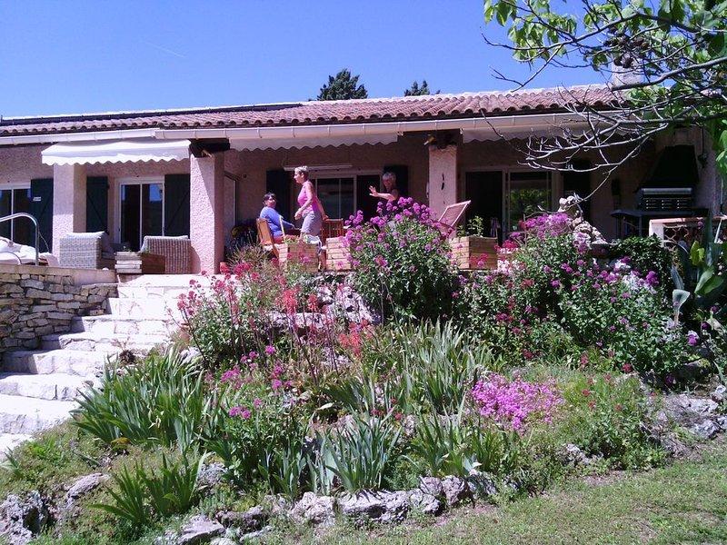 Provence Verte a 30minute des plages ,des gorges du Verdon,animaux acceptés, location de vacances à Puget-Ville