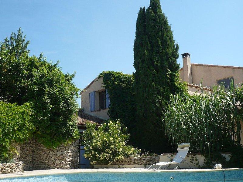 La Maison d' Anastasia  Près du Pont du Gard, aluguéis de temporada em Montfrin