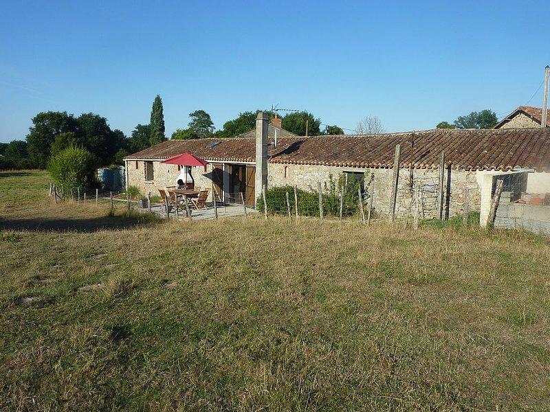 champs vue de la terrasse