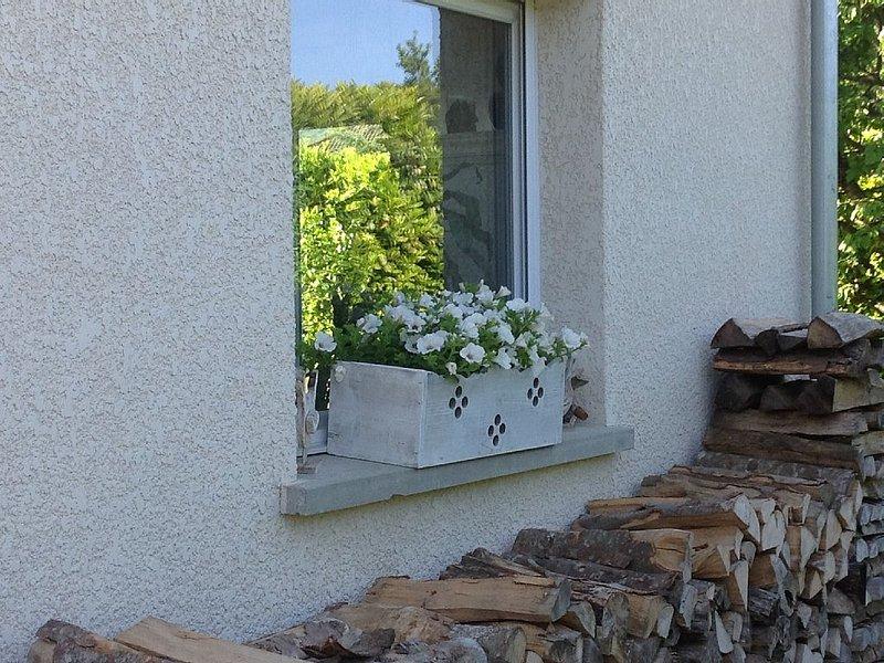 Gite au dessus d'Annecy le Vieux pour 4 à 5 personnes entre lac et montagnes., location de vacances à Argonay