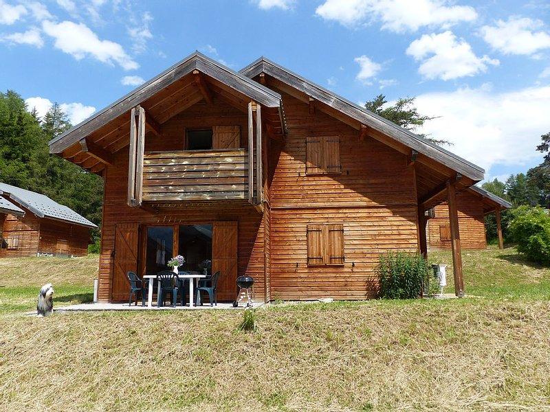 Chalet *** familial Alpes du sud avec Thalasso à proximité, alquiler de vacaciones en Le Devoluy