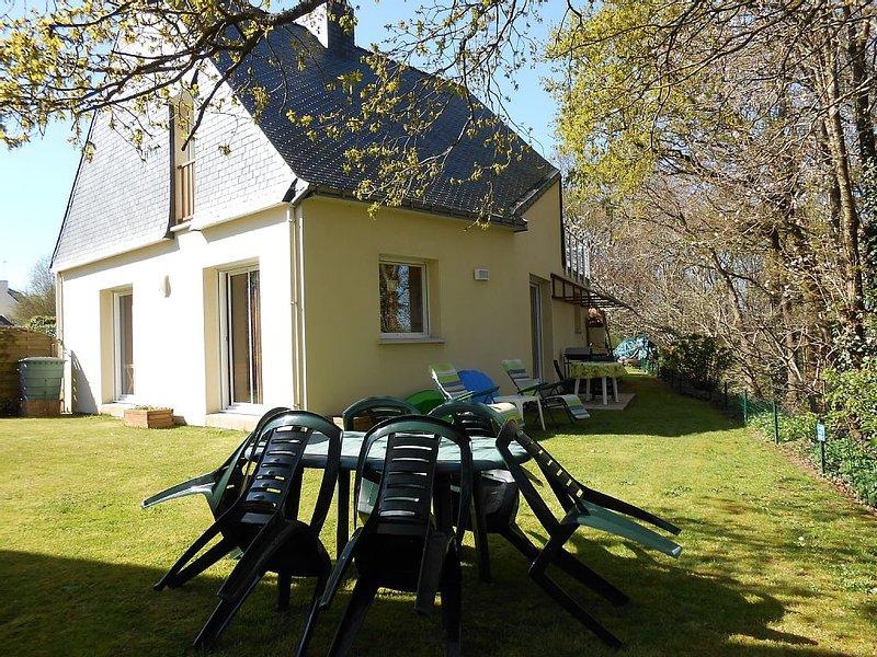 Maison dans un cadre exceptionnel, location de vacances à Questembert
