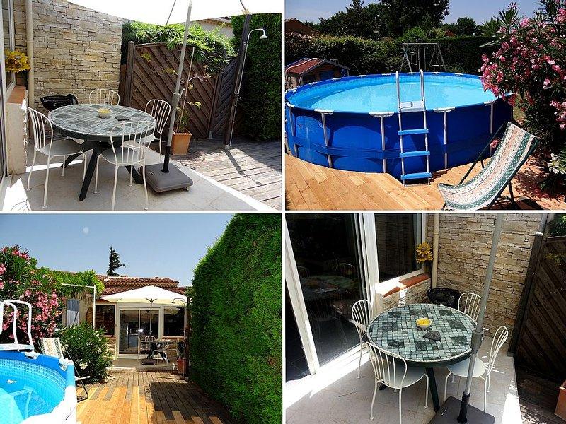 Appartement duplex 4 personnes dans villa, location de vacances à Vedène