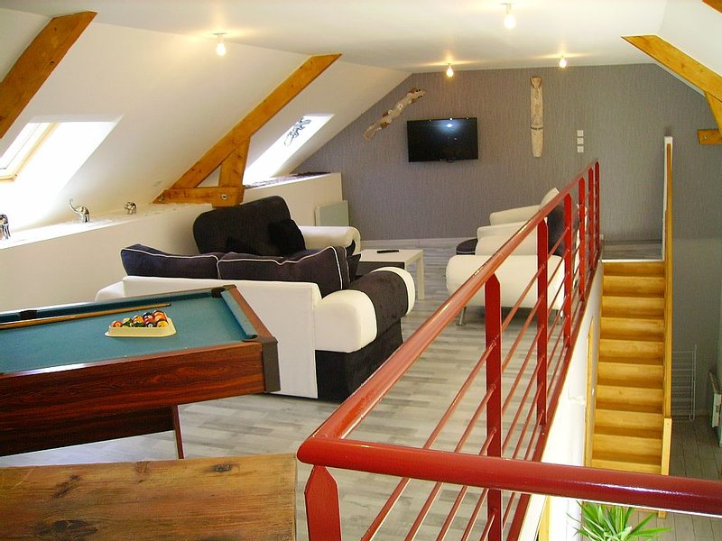 Gîte  'La Mezzanine', holiday rental in La Haye-du-Puits