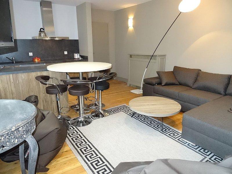Suite familiale de l'Octroi F3 au coeur  de Chartres a 55m2 2 chambres, parking, holiday rental in Bonneval