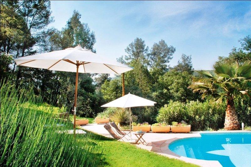 Villa pays de Grasse et Cannes, alquiler vacacional en Le Tignet