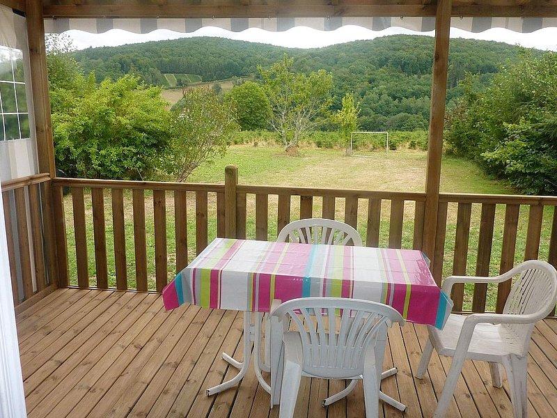 Mobilhome 4 pers dans le Morvan près d'Alligny en Morvan., location de vacances à Chaumard