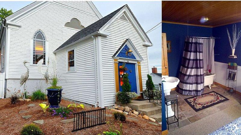 Sleep Like an Angel in an Old Church - Blue Room, vacation rental in Wolfeboro
