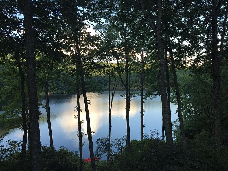 A peaceful, lakeside retreat (view from porch)