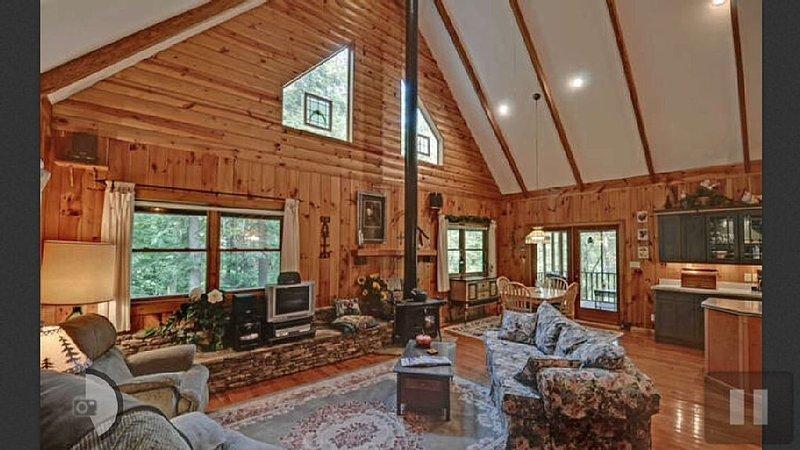 Toccoa River Cabin!!, location de vacances à Suches