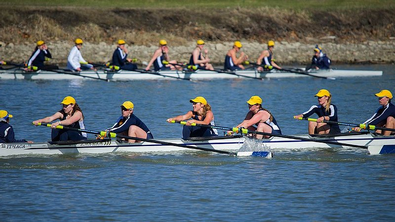 Rowing regattas and crews practicing on the Inlet are a frequent sight.