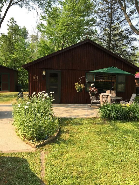 Front porch of cabin 2016