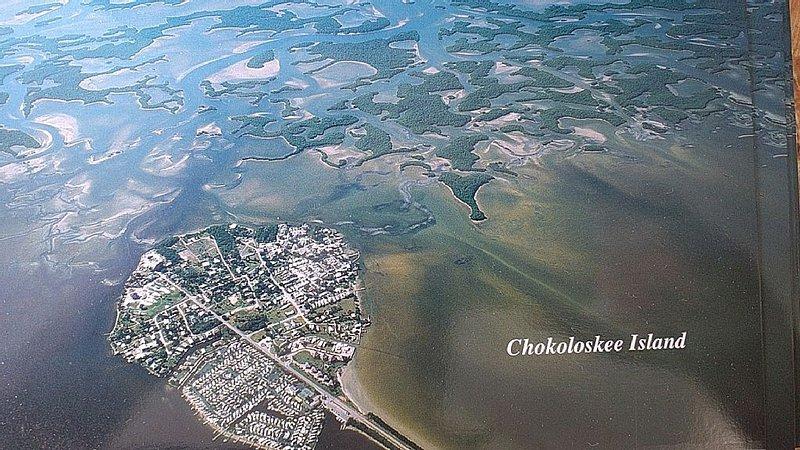 Everglades Chokoloskee 3 bdrm Home w/ dock, marina, National Park,10,000 Islands, casa vacanza a Ochopee