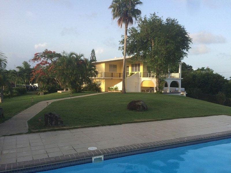 Abreeze 1BR: Stunning Hilltop Villa in Destino, holiday rental in Isabel Segunda