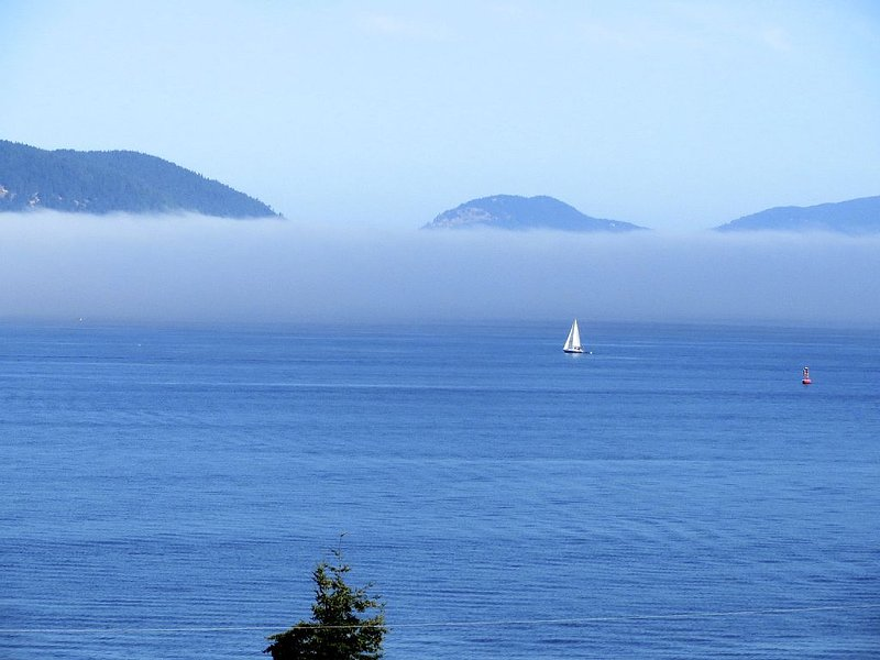 Beautiful ocean sunset, Fidalgo Island, Washington State, casa vacanza a Decatur Island