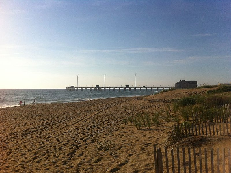 1000 foot pier, photo taken from south beach access, great for walks
