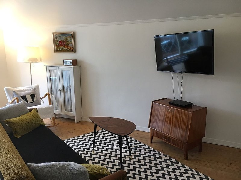 Spacious One Bdr. Apt. with Balcony in Historic and Charming Fredrikstad, Norway, holiday rental in Rygge