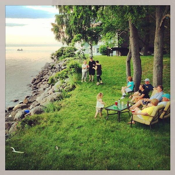 Waterfront house on Lake Ontario - paradise!!, holiday rental in Sackets Harbor