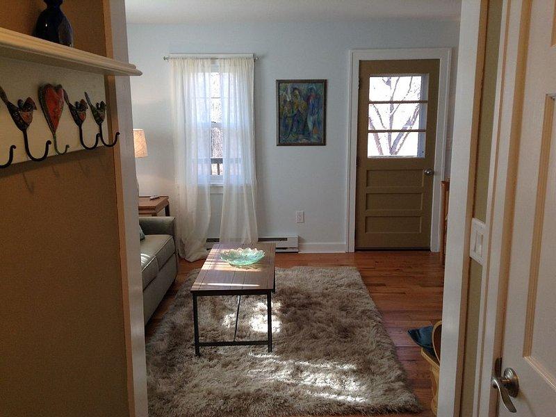 Entrance hall into Living Room