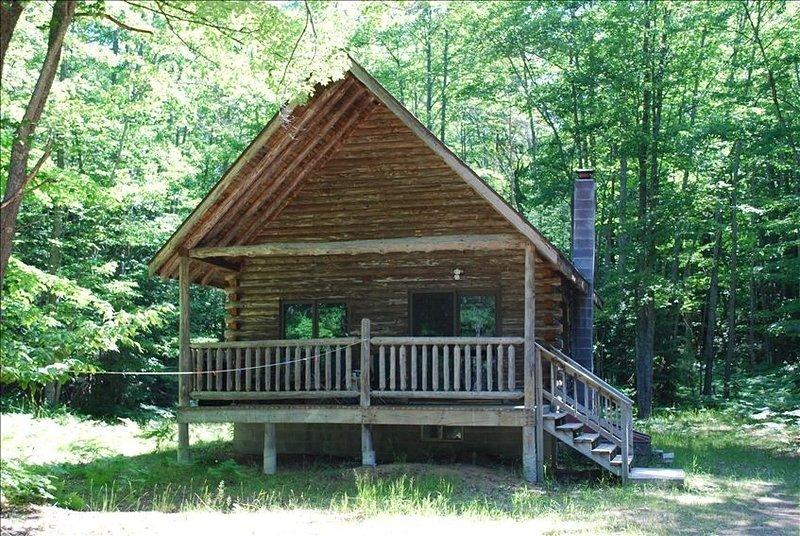Cabin on Private Acreage Outdoorsman Paradise, location de vacances à Manistique