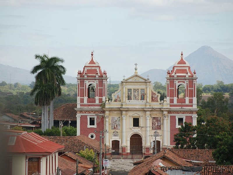 The extraordinary  & entertaining colonial city of Leon is only 12 miles away.