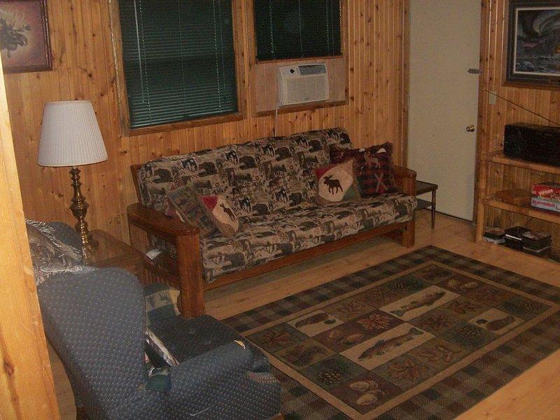 Cozy Little Red Cabin, alquiler de vacaciones en Hackensack