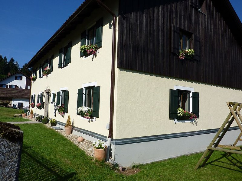 Large 4 bedroom 1st floor apartment with stunning views from large balcony, holiday rental in Susice
