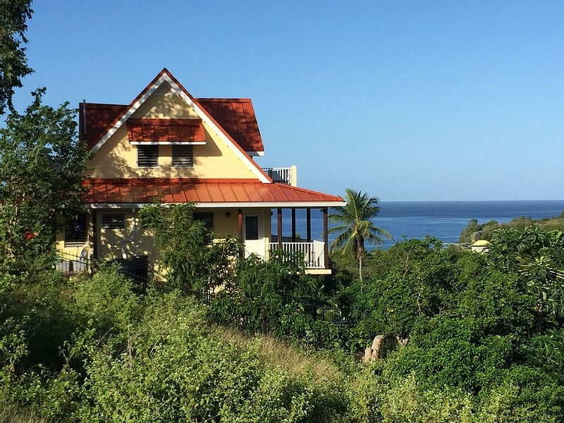 Gorgeous view, close to Gros Piton, holiday rental in Choiseul