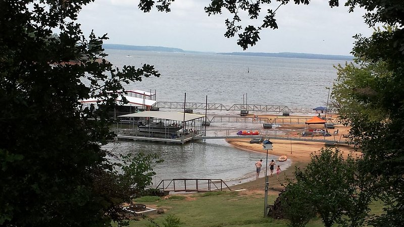 Swimming area. View from Deck/Summer