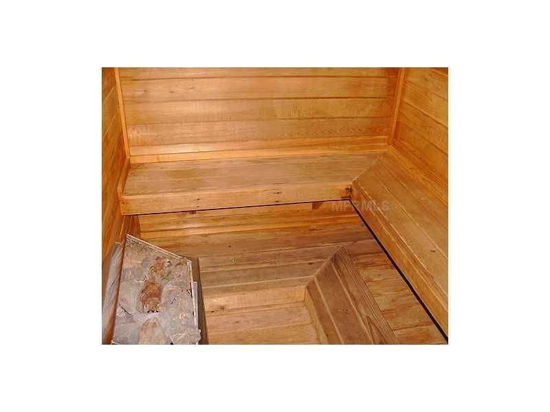 Enjoy a sauna