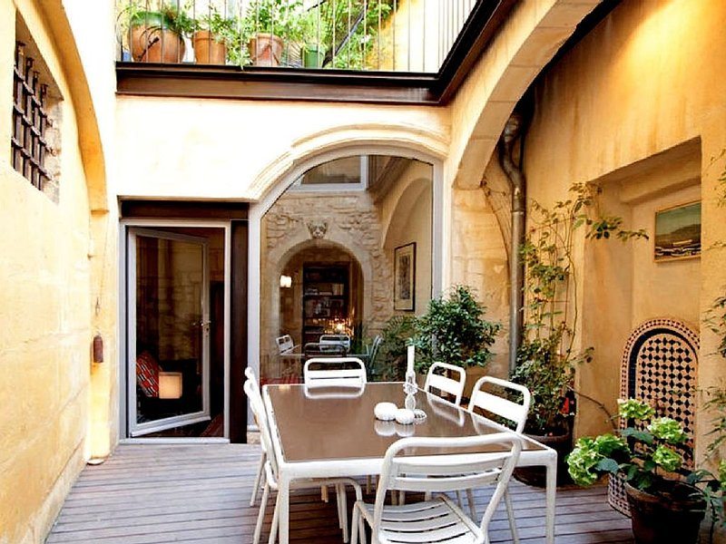 La Maison du Port : A very highly original house, in a contemporary spirit, holiday rental in Fourques