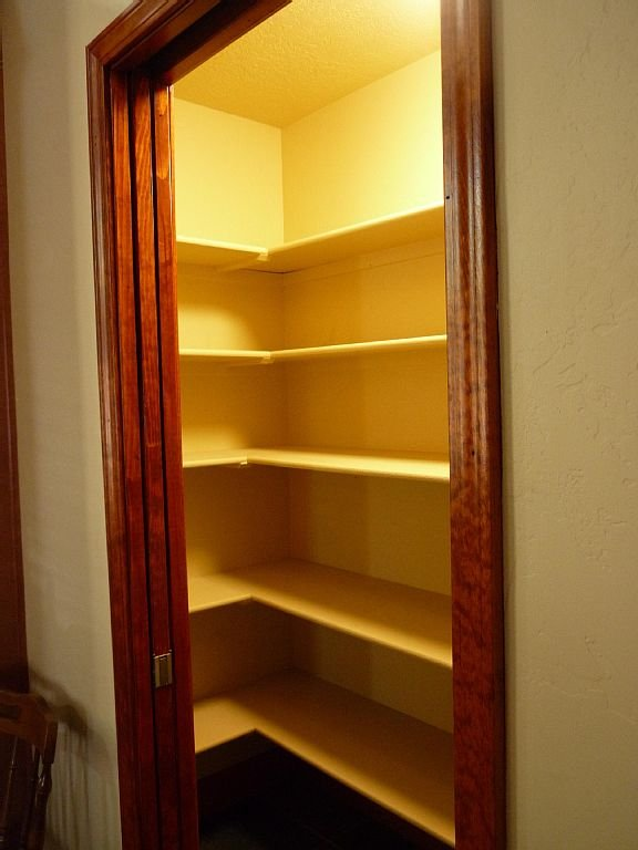Large pantry next to Kitchen.  It contains all of the cooking staples you need.