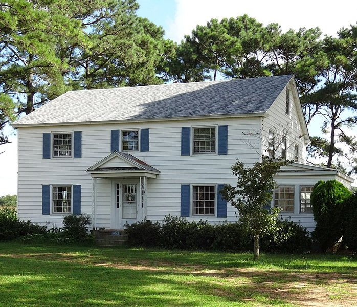 The Fishing Cottage located on a Scenic Eastern Shore farm – semesterbostad i Cape Charles