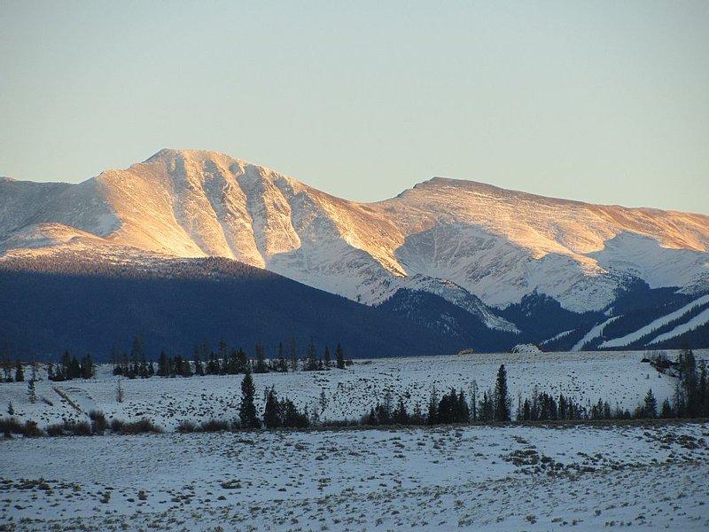 View towards the James Peak Wilderness.