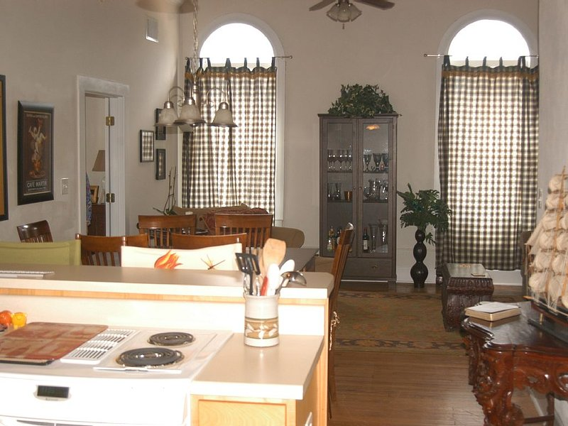 Loft Apartment In Historic Building, holiday rental in Midville