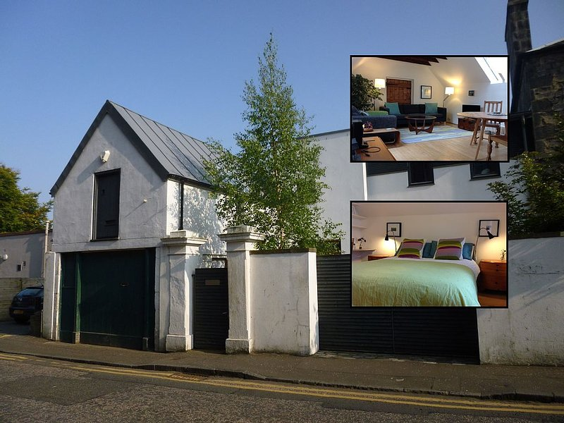 Stylishly Converted Coach House, holiday rental in Danderhall